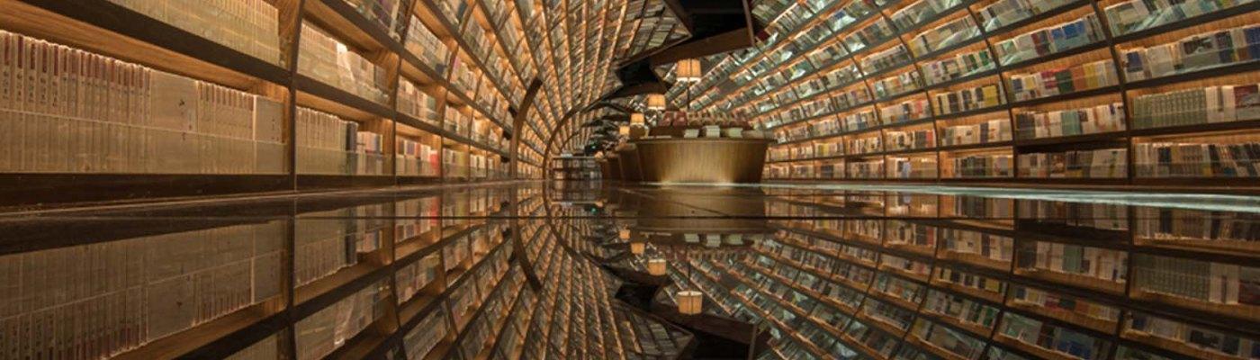 Zhongshuge Bookstore Chengdu libreria andrea bindella fantascienza fantasy thriller vampiri