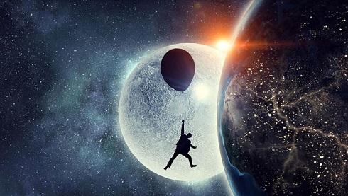 luna moon 50 anni allunaggio andrea bindella fantascienza terra 2486 anima sintetica
