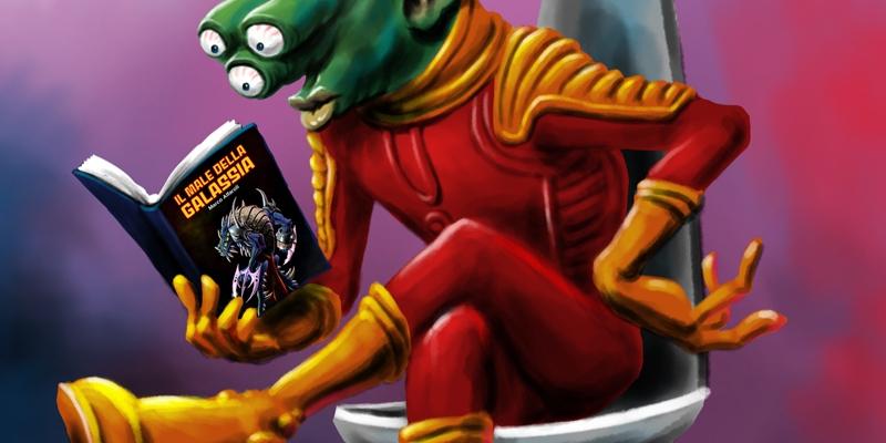 Il Male della Galassia Marco Alfaroli fantascienza fiction scifi andrea bindella autore terra 2486 anima sintetica inganno imperfetto