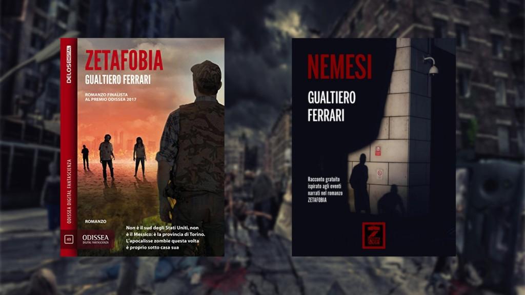 zetafobia gualtiero ferrari fantasy fantascienza zombie horror halloween andrea bindella autore vampiri nuovo nemico