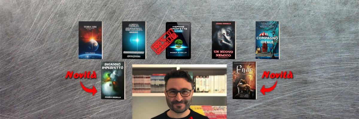 regalo natale libro romanzo paperback audiolibro ebook andrea bindella fantascienza fantasy thriller terra 2486 inganno imperfetto un nuovo nemico