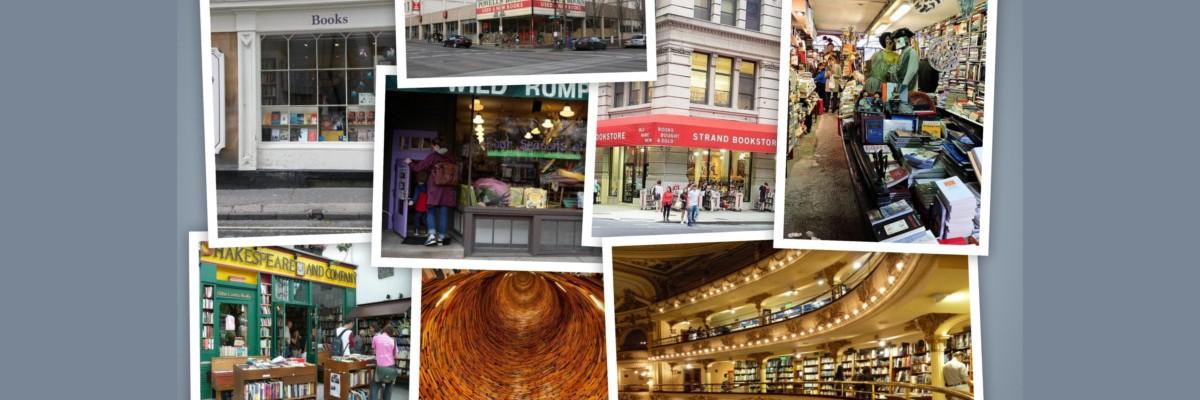 BLOG andrea bindella autore fantascienza fantasy thriller librerie belle mondo Powells City Acqua Alta Ateneo Grand Splendid Shakespeare Company Strand Bookstore Wild Rumpus Emporium Reading Delights