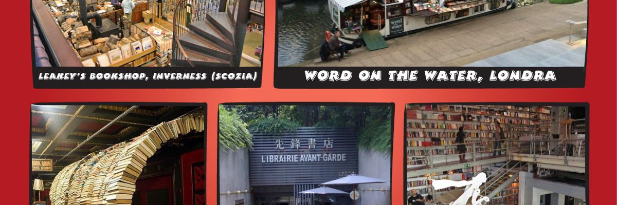 BLOG andrea bindella autore fantascienza fantasy thriller librerie stravaganti mondo Leakeys Word water Last bookstore Avant-Garde Ler Devagar